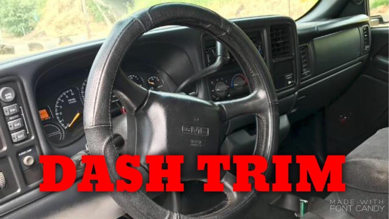 2000 chevy silverado dash removal