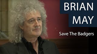 Brian May | Save The Badgers | Oxford Union