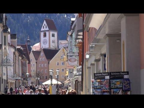 Füssen / Germany - Bavaria - East Allgaeu views HD
