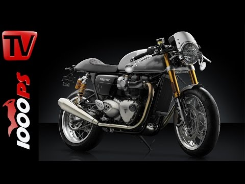 Triumph Thruxton R 2017 - Rizoma Accessories