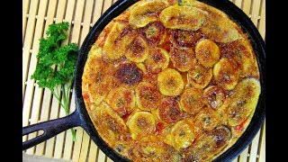 The Ultimate Plantain Frittata #TastyTuesdays | CaribbeanPot.com thumbnail