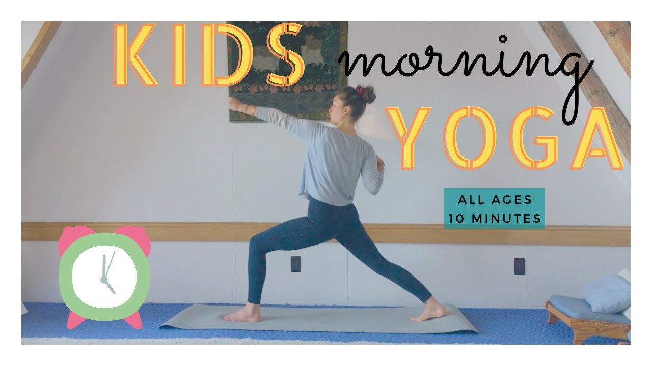 Kids Morning Yoga - All Ages   |  Wake Up Yoga  |  Yoga with Tash