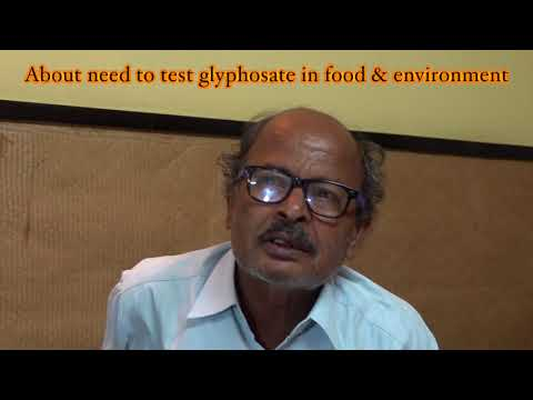 Discussing glyphosate and organic farming in Bengal