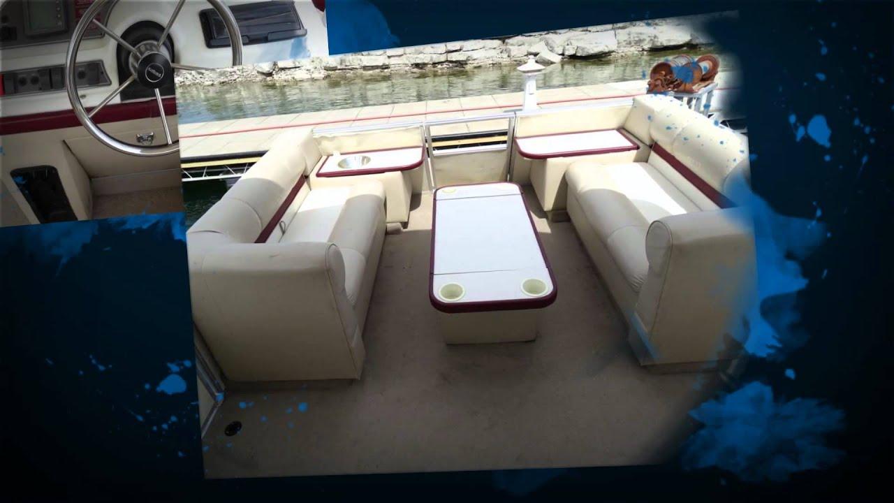 1997 Red Crest Pontoon Boat Rental Lake Travis