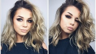 HOW I CURL MY HAIR 2 WAYS | CURLERS AND STRAIGHTENERS