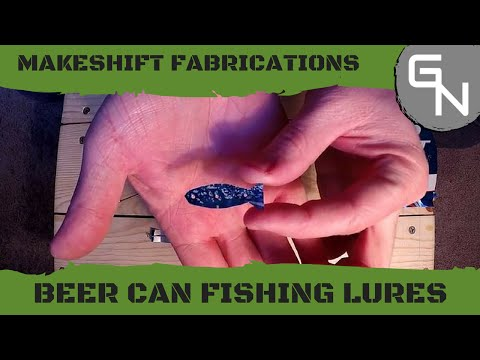 How To Make A Beer Can Fishing Lure