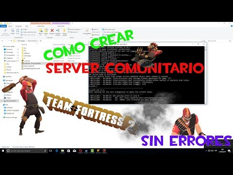 Como crear server publico tf2 español