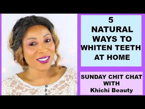 Download 5 NATURAL WAYS TO WHITEN TEETH AT HOME Khichi Beauty