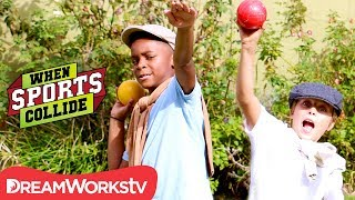 WHEN SPORTS COLLIDE | Croquet Crash (Croquet + Shot Put + Bocce Ball)