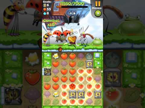 Best fiends level 596 walkthrough ios android gameplay HD
