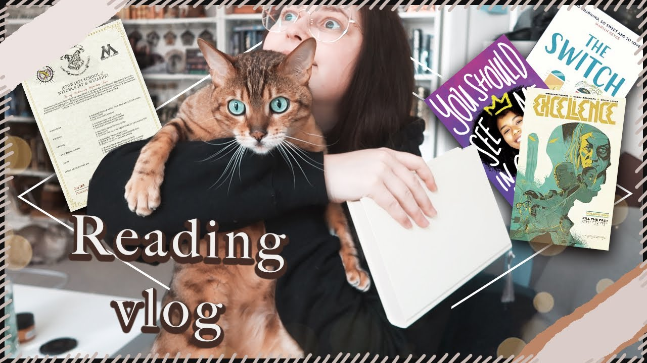 Getting Back to Reading vlog & Last N.E.W.T.s Prompts | Book Roast