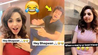 Newly Married Couple Sugandha Mishra & Sanket Bhosale Non-Stop Funny Video | Shaadi Ke Baad