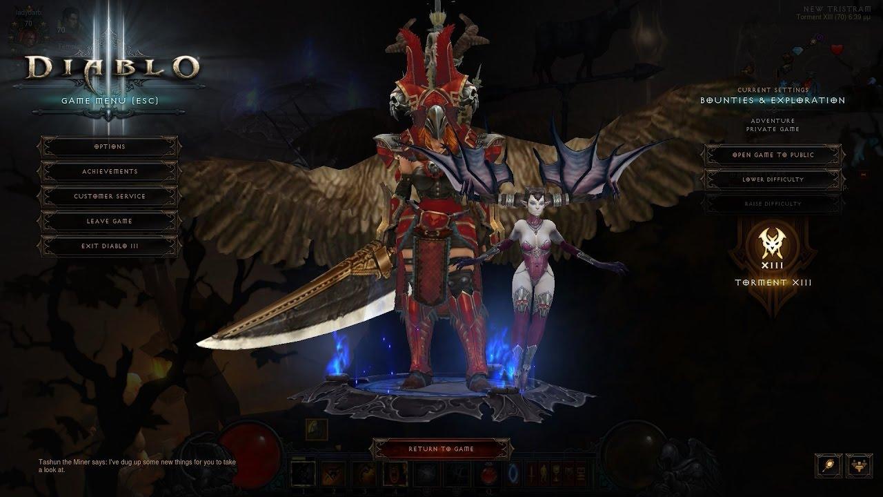 Diablo III 2.4.3 Season 9 Haedrig's Mote Leapquake Barb - YouTube