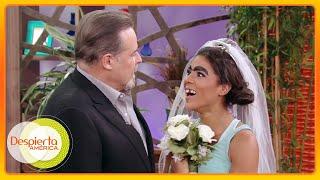 ¡Mela le pidió matrimonio a César Évora! ¿Se la llevará a México?