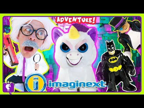 HobbyHarry Mysterious Creature ADVENTURE #2 Imaginext Batman Toy Review with HobbyKidsTV