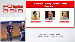 Codeheat Award - FOSSASIA 2018