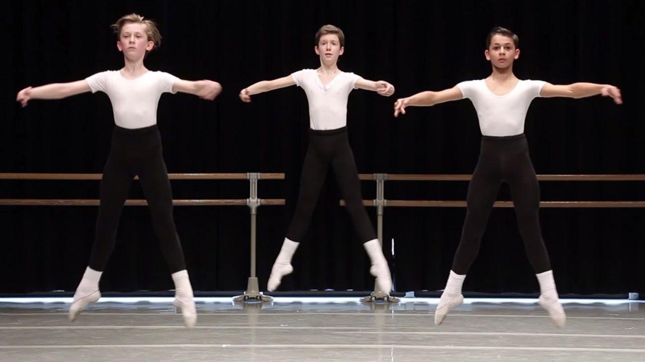 Danse classique - milieu, sauts / garçons 12-13 ans / ballet boys 2