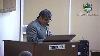 1ª Sessão Ordinária - Vereador Ademir Massa