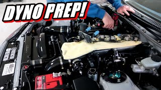 Supra Dyno prep! How Much Power Will It Make?