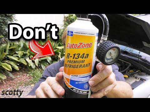 Never Use This On Your Car S Ac System