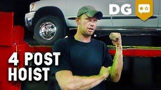 Why I Chose A 4 Post Hoist