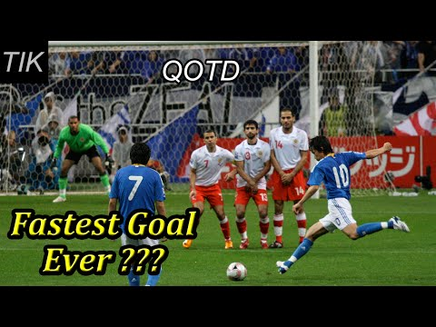 Fastest Football Goal in History??? QUESTION OF THE DAY #31 Sport Quiz