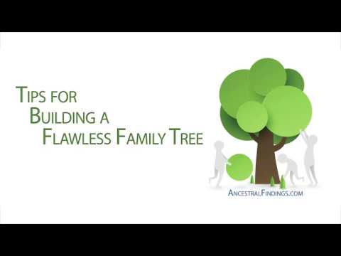 AF-212: Tips for Building a Flawless Family Tree