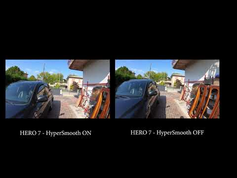 GoPro Hero 7   HyperSmooth On vs HyperSmooth Off