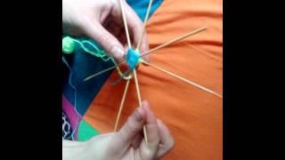 Видео-Урок Плетение Мандалы из Ниток
