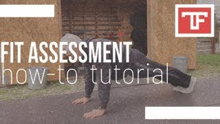 Fit Assessment Tutorial