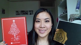 Glossybox December 2013 + Golden Glossybox Unboxing Thumbnail