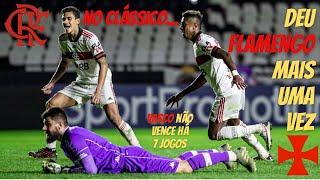 Na perseguição ao Atlético, Flamengo volta a derrotar o Vasco, que chegou a sete jogos sem vencer