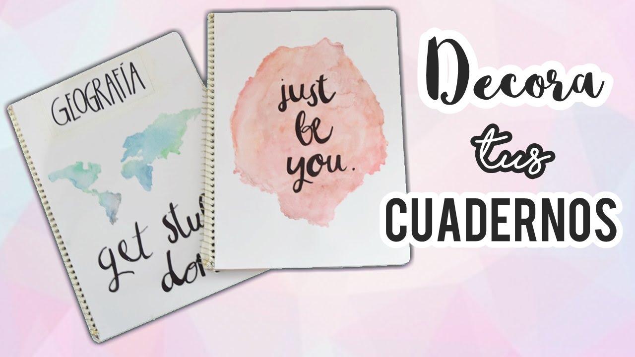 Portadas Para Cuadernos Decora Tus Libretas Con Dibujos: Decora Tus Cuadernos!