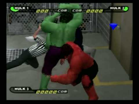 Hulk vs. Grey Hulk vs. Red Hulk - YouTube