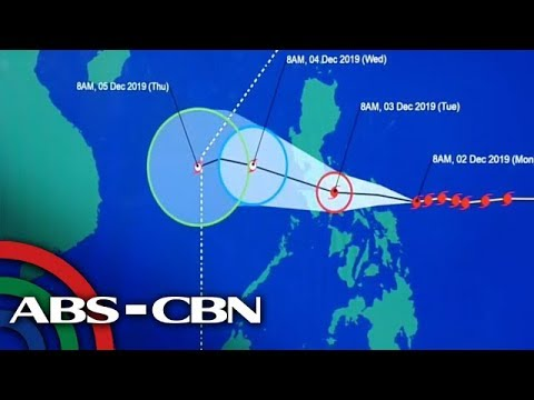 Typhoon Tisoy To Bring Heavy Rains Over Parts Of Luzon, Visayas | 2 December 2019