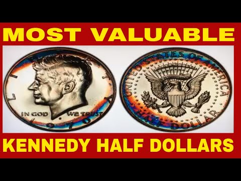 TOP MOST VALUABLE KENNEDY HALF DOLLARS WORTH HUGE MONEY! KENNEDY HALF DOLLARS TO LOOK FOR