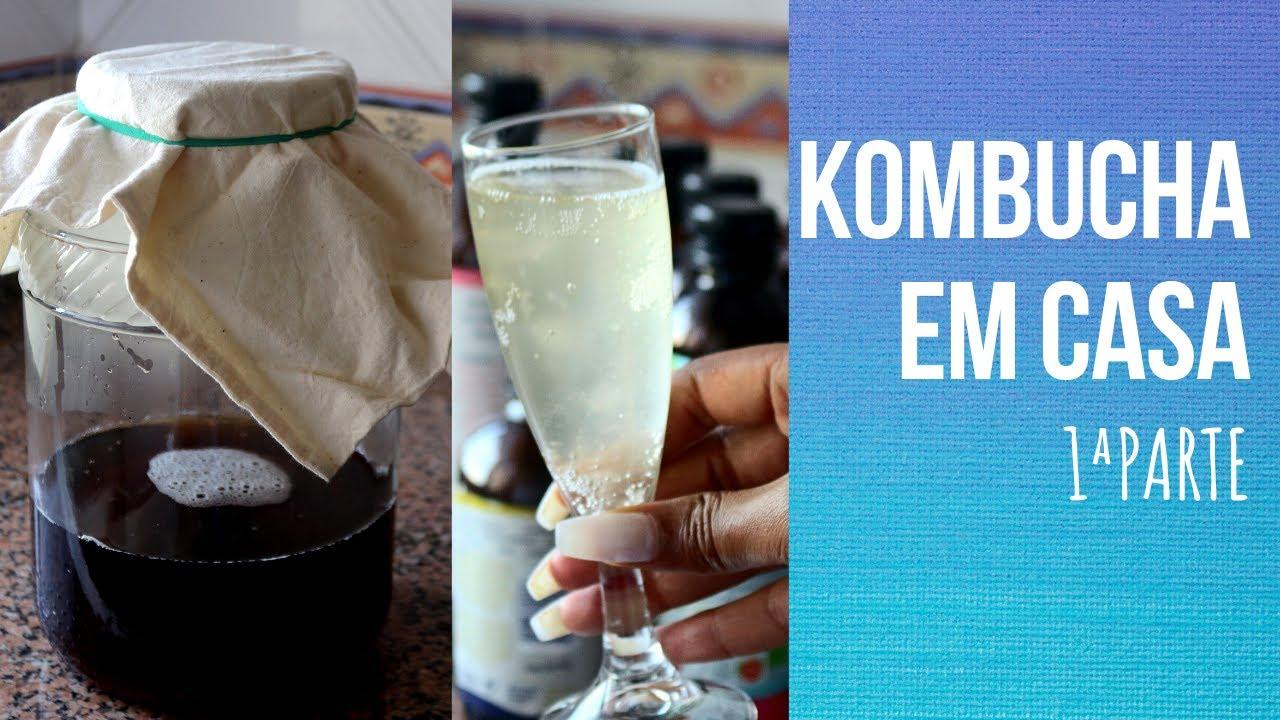 Kombucha em casa  - Preparar a bolacha/Scoby   1ª Parte