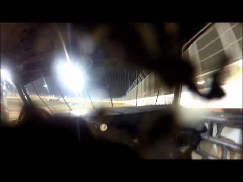 Brett Testerman Outlaw motor speedway Pure Sotck A main 8-10-2013