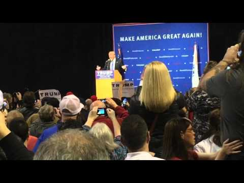 "Donald Trump ""Trumps"" Worcester Massachusetts Event at the DCU Center November 18, 2015"