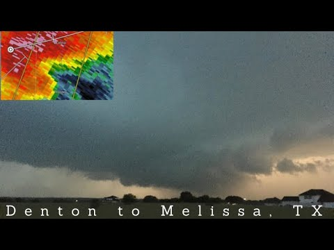 5/3/2021 • LIVE Storm Chasing - Northern D/FW Severe Storms