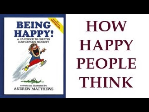 How Happy People Think + free poster