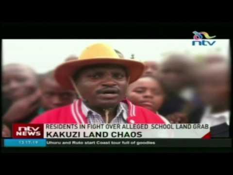 Kakuzi residents in fight over alleged  school land grab