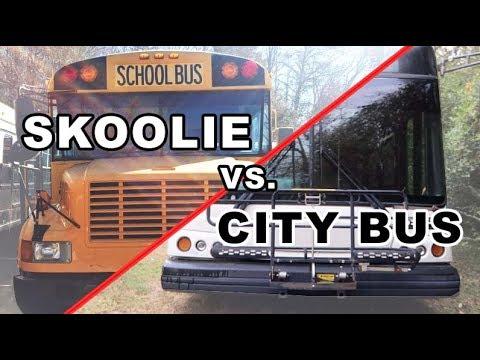 Skoolie Vs City Bus Conversion
