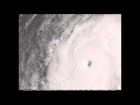 Cyclone Noul from Space