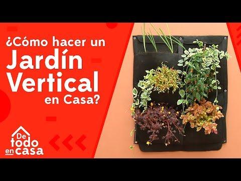 Cómo Hacer Un Jardin Vertical En Casa - De Todo En Casa