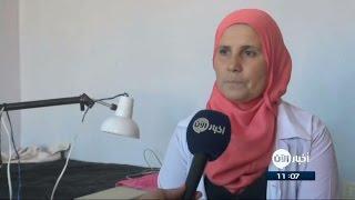 أم فارس.. سوريّة من درعا تقدم الإسعافات لضحايا القصف