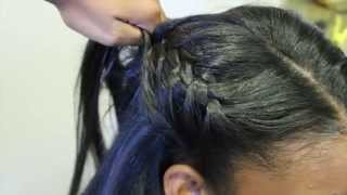 Sharing Clips: Doing a Versatile Sew-IN using Brazilian Straight on my niece =))
