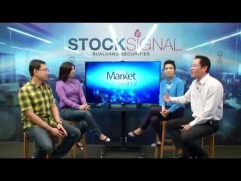 Market Signal : หาหุ้นพื้นฐานเด่น กราฟเทคนิคสวย กับกูรูบัวหลวง - Stock Signal 06/06/58