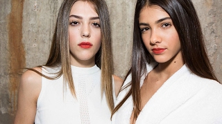 Topshop at London Fashion Week I Behind the Scenes with Sistine Stallone