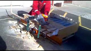 Cutting Pallets For Firewood